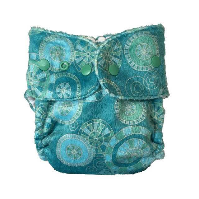 Baby BeeHinds Cloth Nappies - Pocket Nappy Seascape