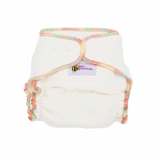 Baby BeeHinds Cloth Nappies - Organic Fitted Nappy