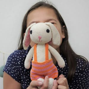 Yawama Kids - Organic Softie Rabbit