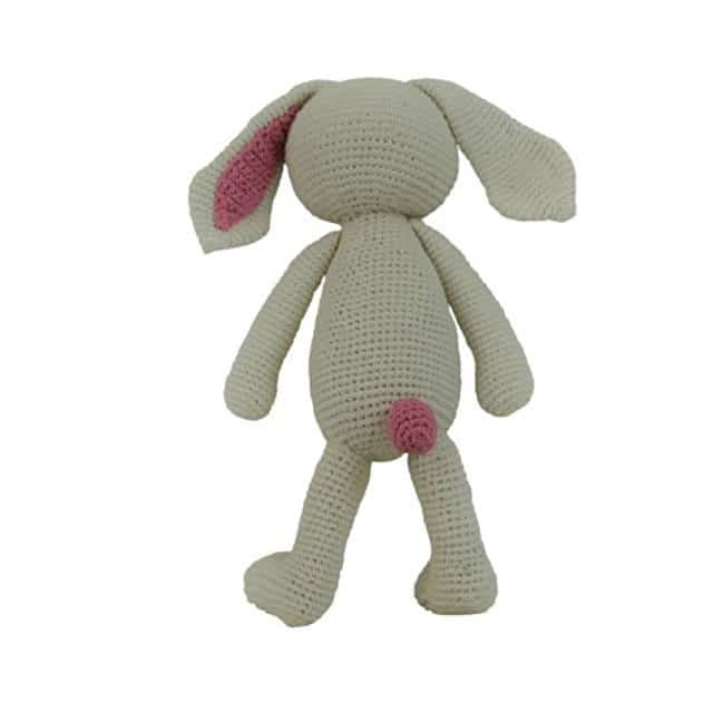 Yawama Kids - Organic Softie Rabbit Behind