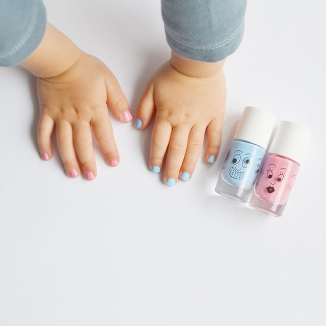 Nailmatic Kids - Non-toxic Water Based Nail Polish For Children - Gaston and Cookie