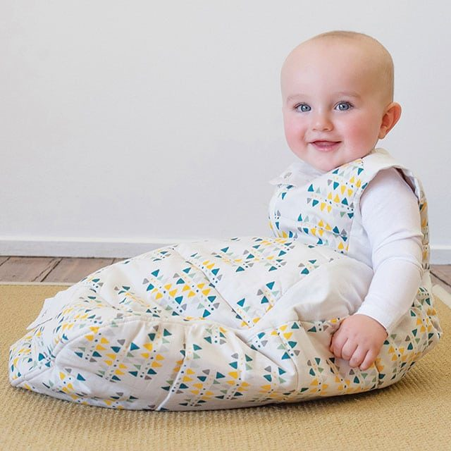 ergoPouch - Sleeping bag for baby and child - Tribal Teal 2.5 TOG