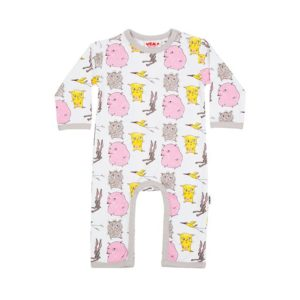 Who? by Stina Wirsén - Organic pyjamas / jumpsuit with the Who? characters