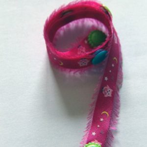 By Claudia - Toy Strap Pink Frills