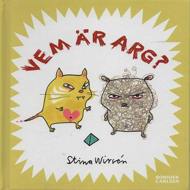 Who's angry? - book