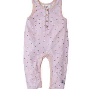 Bumble & Bee Organic Kidswear - Romper Blush Arrows