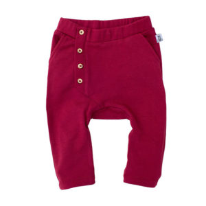 Bumble & Bee Organic Kidswear - Ruby Wine pants