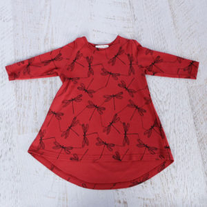 Mickey Rose Organic Kids Wear - Kids Dress, Dragon Fly