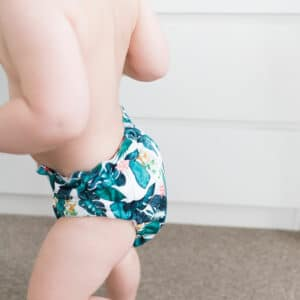 Baby BeeHinds Cloth Nappies - Child in Nappy Tropicana