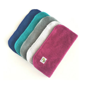 Baby BeeHinds - Organic Wash Cloths, Mixed Colours