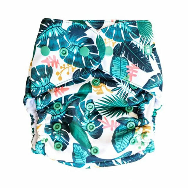Baby BeeHinds Cloth Nappies - Pocket Nappy Tropicana