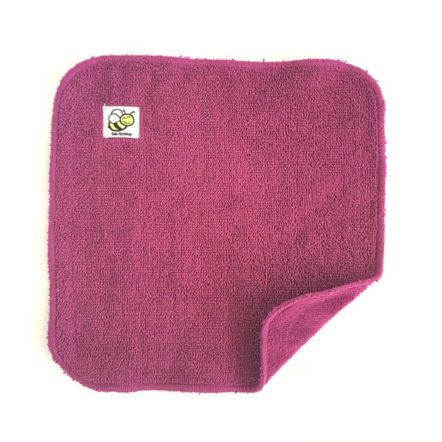 Baby BeeHinds - Organic Cotton Wash Cloth, Plum