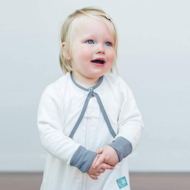 ergoPouch - ergoArms Organic Arm Warmers, Happy Child