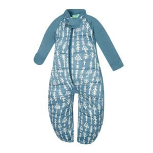 ergoPouch - Organic Sleep Suit With Legs, Midnight Arrow, 2.5 TOG