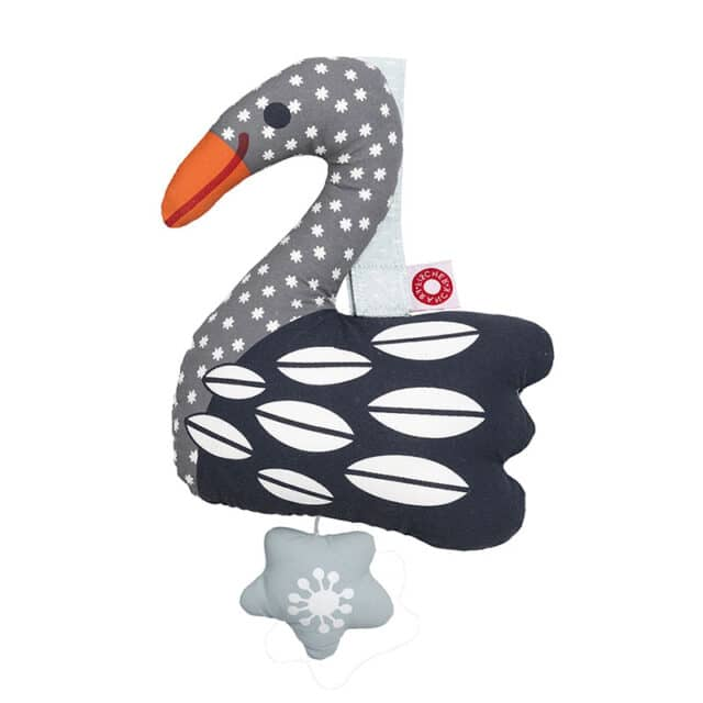 Else Black Swan Musical Toy Baby