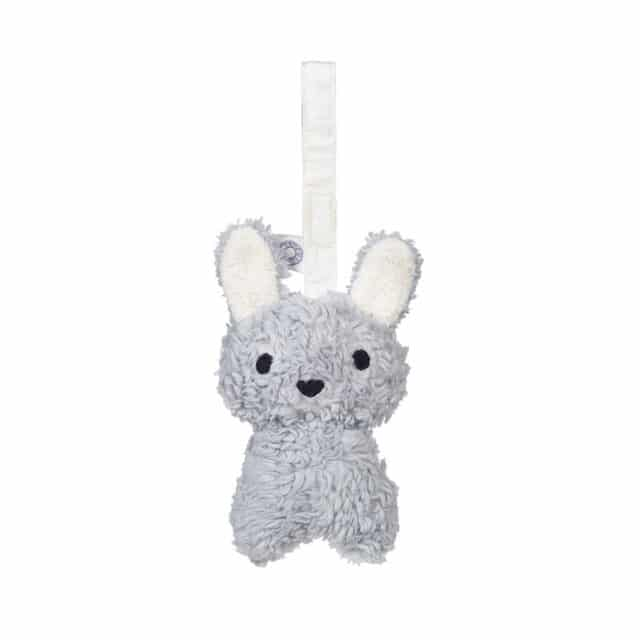 Louise Grey Rabbit Rattle