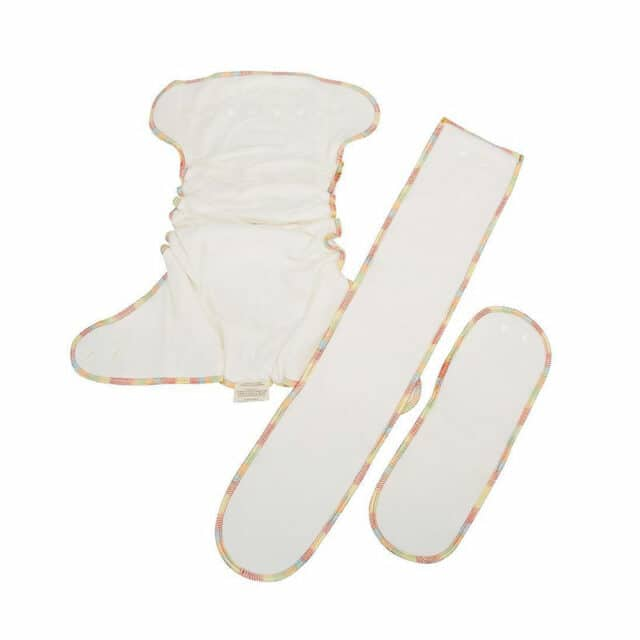 Baby BeeHinds Cloth Nappies - Fitted Nappy, Included Inserts