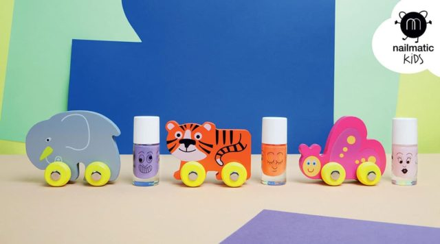 Nailmatic Kids - Non-toxic Water Based Nail Polish For Children - Kanako and Dori