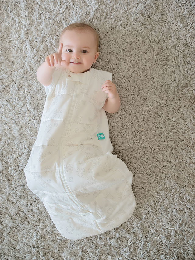 ergoPouch - Sleeping bag for baby and child - Natural Stars 2.5 TOG