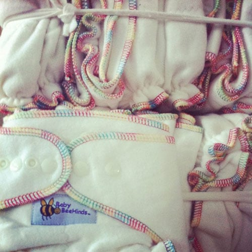 Baby BeeHinds Cloth Nappies - Box of Fitted Nappies