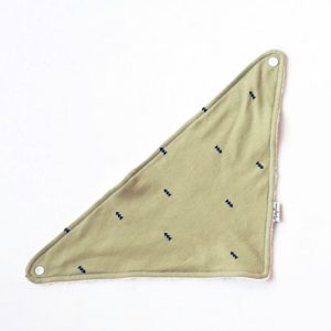 Mickey Rose - Dribble bib Tiny Triangle