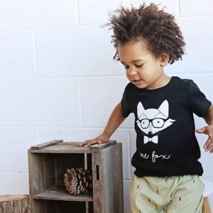 Mickey Rose - Tee Mr Fox & Tiny Triangle Harems