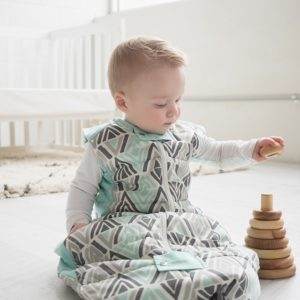 ergoPouch - Sleeping bag for baby and child - Tribal Mint