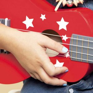 Non-toxic Water Based Nail Polish For Children - Freezy Guitar