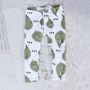 Mickey Rose Organic Kids Wear - Leggings, Leaf
