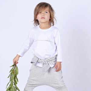 Mickey Rose Organic Kids Wear - Tracksuit Pants, Poet