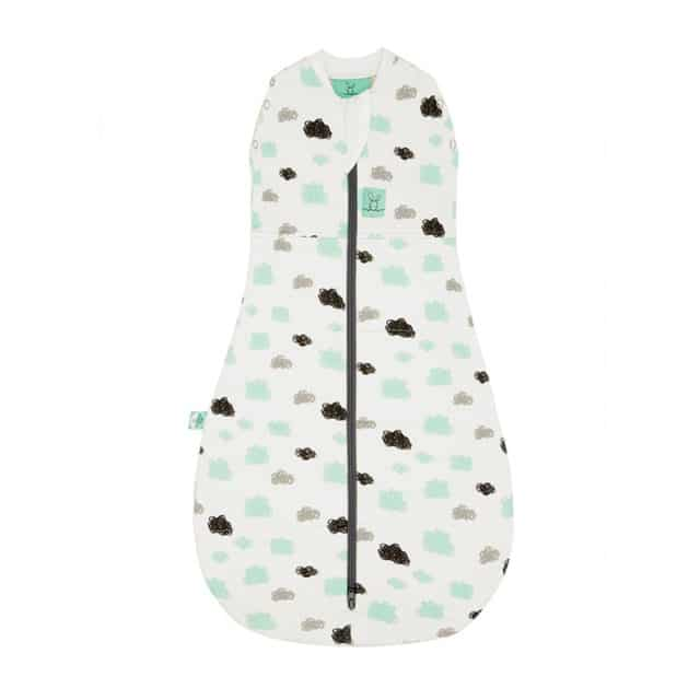 ergoPouch - Swaddle & Sleeping Bag for Child and Baby - Clouds, Warm