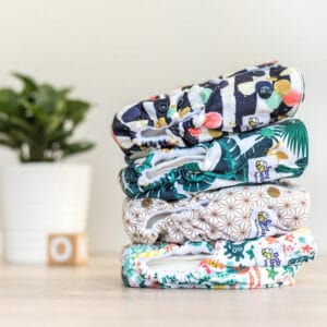 Baby BeeHinds Cloth Nappies - Pocket Nappy Stack