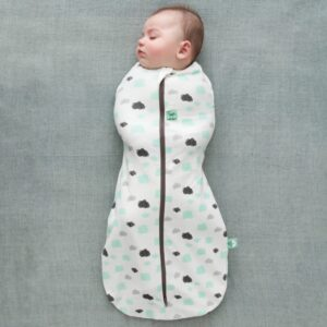 ergoPouch - Swaddle & Sleeping Bag for Child and Baby - Clouds, No arms out