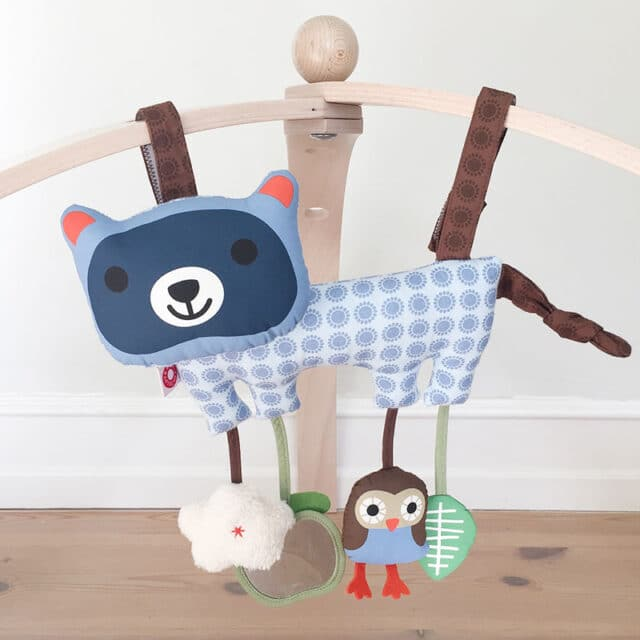 Hasse Racoon Baby Gym