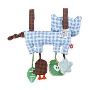 Hasse Racoon Activity Toy Back