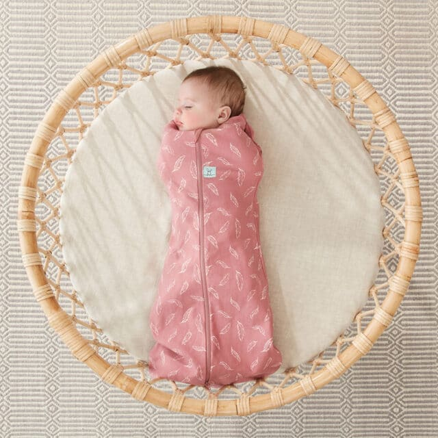 ergoPouch Swaddle Quill arms inside