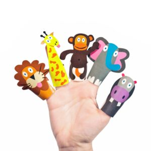 Pukaca Paper Toys - Finger Puppets Jungle