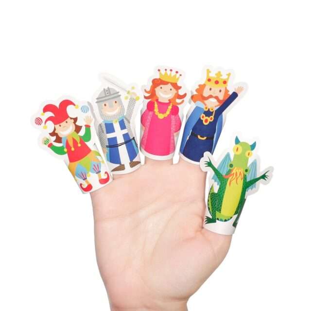 Pukaca Paper Toys - Finger Puppets Medieval