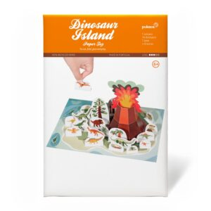 Pukaca Paper Toys - Playset Dinosaur Island Packaging