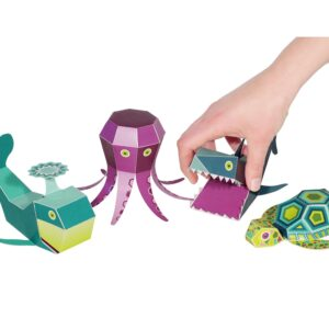 Pukaca Paper Toys - Sea Animals