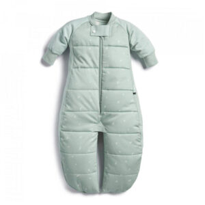 ergoPouch Sleep Suit Sage, Warm - With Legs