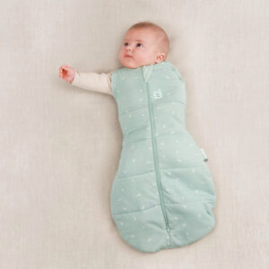 ergoPouch Swaddle Sleeping Bag Sage, One arm