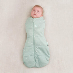 ergoPouch Swaddle Sleeping Bag Sage, No arms