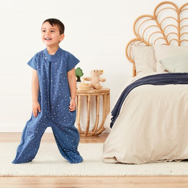 ergoPouch Sleepsuit Night Sky, Cool Child Cropped